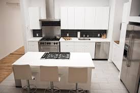 White Laminate Kitchen Cabinets Kitchen Inspiring White Dry Kitchen Decoration With Led Lamp In