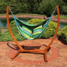 hanging chair stand only wayfair