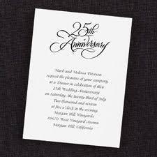 card invitation ideas cheap 25th wedding anniversary invitation