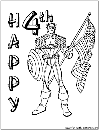 preschool 4th of july coloring pages