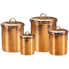 hammered copper kitchen canister sets u2014 jburgh homes popular