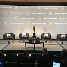 Football Conference Table College Football Playoff Cfbplayoff Twitter