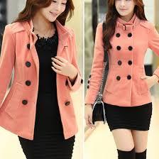 coat clothes fashion warm winter coat warm coat top pink