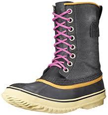 sorel womens boots uk sorel s 1964 premium cvs boots black size 4 uk amazon co