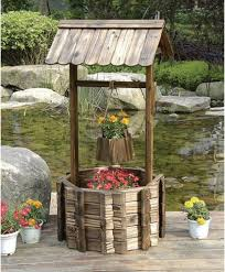 awesome wishing well garden decor wishing well planter rustic