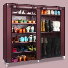 shoe and boot cabinet house scenery double arrangement capacity simple shoe boots cabinet