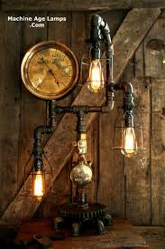 lamp industrial steam gauge machine age lamp 88 sold