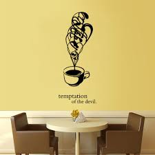 online get cheap kitchen wall stickers coffee mugs aliexpress com