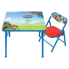 target folding table and chairs target disney junior table chair set only 7 49 today only