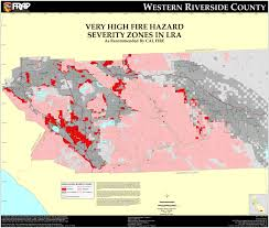 riverside map cal riverside county fhsz map