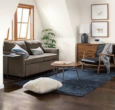 why this room works sleeper sofas u0026 small spaces room u0026 board