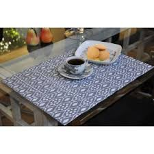 Leather Placemats For Conference Table Printed Faux Leather Place Mats Buy Faux Leather Place