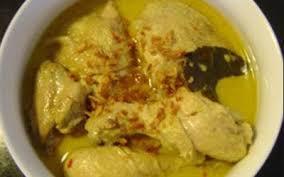cara membuat opor ayam sunda resep membuat opor ayam menu khas lebaran