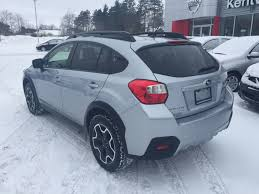 black subaru crosstrek used 2014 subaru xv crosstrek 2 0i w sport pkg in kentville used