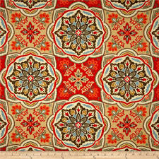 waverly tapestry tile clay discount designer fabric fabric com