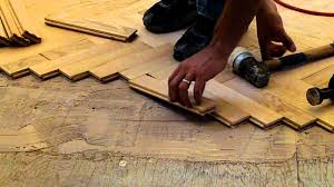 installing hardwood oak herringbone floor nj kitchens and