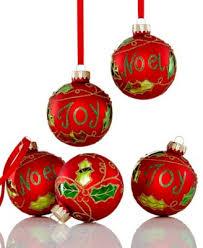 box of 12 assorted jingle bell ornaments