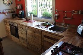 table de cuisine en palette étourdissant table cuisine palette et meuble de cuisine en palette