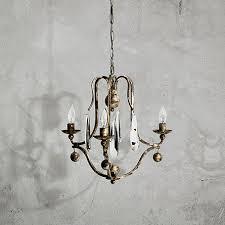 arhaus chandelier bonita 18 three light chandelier in silver clay arhaus furniture