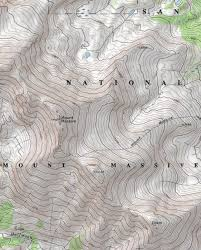 Topographical Map Of Colorado lake county topographic map lake county colorado stray horse