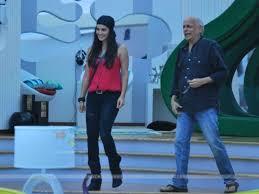 Sunny Leone with Mentor Mahesh Bhatt