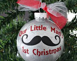 First Christmas Personalized Ornaments - our first christmas ornament baby etsy