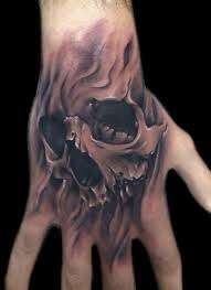skull tattoos for piercing and