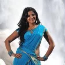 south actress anjali wallpapers amrutha in saree stills