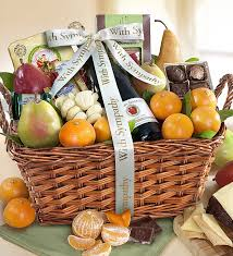 sympathy food baskets sympathy gourmet fruit gift basket