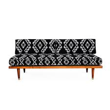 Mid Century Daybed Tribal Print Midcentury Daybed Sofas One Kings Lane Modern