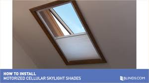 how to install motorized skylight shades u0026raquo skylights and