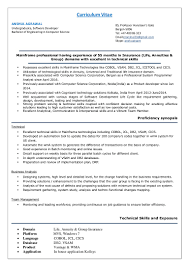 Sample Resume For 2 Years Experience In Mainframe Mainframe Experience Resume Sample Virtren Com