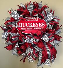 ohio state ribbon sale osu wreath ohio state wreath ohio state by wreathywoman