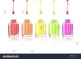 nail polish bottle open nail polish stock illustration 390281287