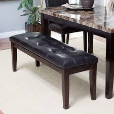 Stone Dining Room Table Finley Home Palazzo 6 Piece Dining Set With Bench Hayneedle
