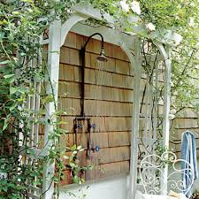 outdoor showers photos here u0027s an outdoor shower with a per