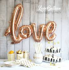 bridal shower decorations love balloon wedding photo props