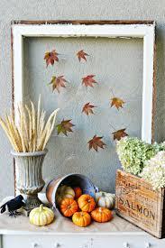 Esszimmer Herbstlich Dekorieren Herbst Bilderrahmen Basteln Und Schöne Herbstdeko Selber Machen