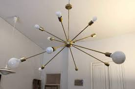 Sputnik Ceiling Light Sputnik Ceiling Light With 12 Arms Juanmalizana