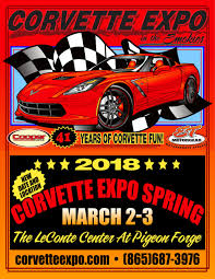 east tennessee corvette corvette expo and fall shows