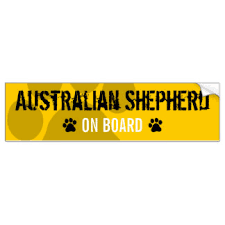 australian shepherd furever australian shepherds stickers zazzle