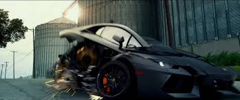 lamborghini aventador features transformers 4 age of extinction trailer released