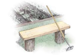 Outdoor Wooden Bench Plans To Build by 3 Easy To Build Outdoor Benches Diy Mother Earth News