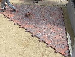 How To Install Pavers For A Patio Indiana Deck Building Repair Paver Patio Firepits