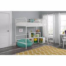 loft beds for kids with stairs girls teens child junior twin metal