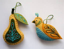 partridge and pear ornaments for robyn partridge pear and ornament