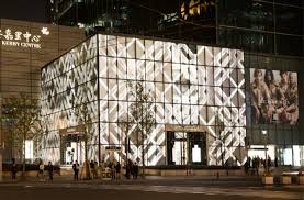 burberry opens massive new shanghai flagship fashionista