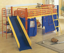 kid bed slide u2014 expanded your mind loft beds for kids with slide