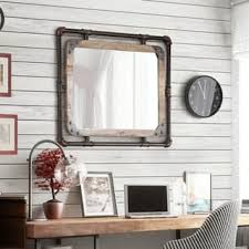 dining room wall decor with mirror 187 gallery dining metal mirrors for less overstock com