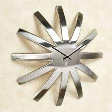 abstract clocks contemporary abstract metal wall clocks